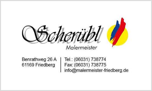 Malermeister Stefan E. Scherübl