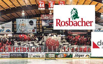 Rosbacher, die docunova GmbH und der EC Bad Nauheim – starke Partner