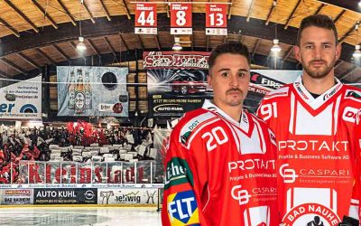 Die Mannschafts-Kapitäne der aktuellen Saison des EC Bad Nauheim