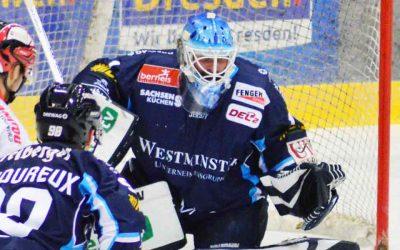 2:6 Niederlage gegen die Eislöwen aus Dresden