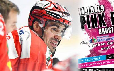 """Charity """"Pink Racket Game"""" im CKS und Auswärtsduell gegen die Lausitzer Füchse"""