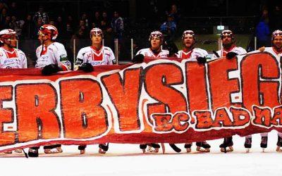 Derbysieger, Derbysieger hey hey!! 3:2 Auswärtssieg bei den Kassel Huskies