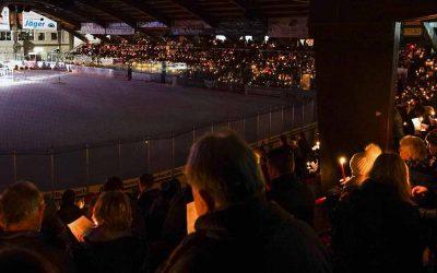 Traditionelles Weihnachtssingen im Colonel-Knight-Stadion – 17:30 Uhr Einlass