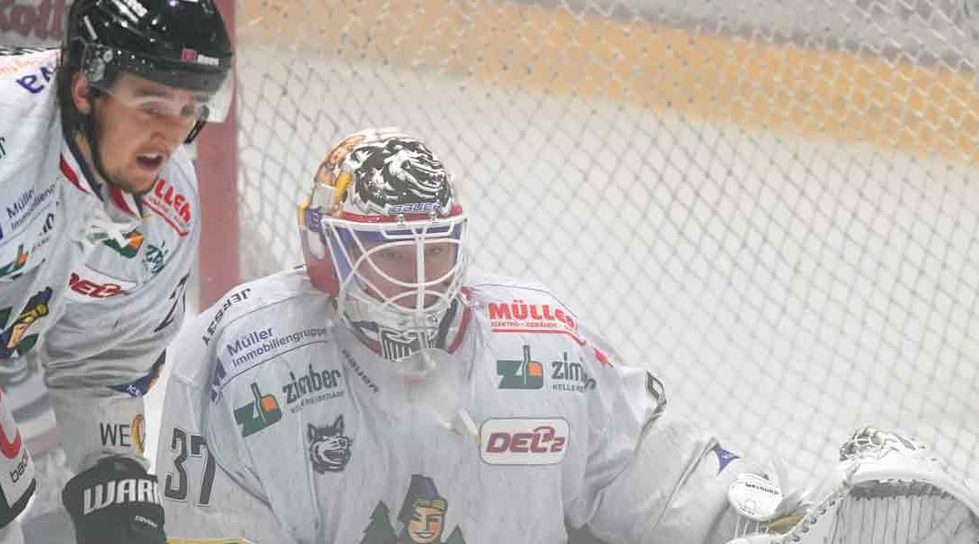 Temporeiches Spiel wird durch ein Tor für die Freiburger Wölfe entschieden
