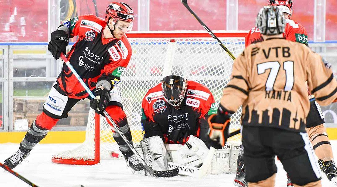 WINTER-DERBY im Sparda-Bank-Hessen-Stadion – Eishockey hat den Bieberer Berg sowas von gerockt; spannender ging's definitiv nicht