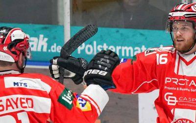 5:1 Heimsieg gegen den Tabellendritten, die Freiburger Wölfe!
