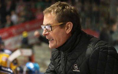 Teuflisches Duo: Hannu Järvenpää und Harry Lange bilden das neue Trainer-Team hinter der Bande des EC Bad Nauheim