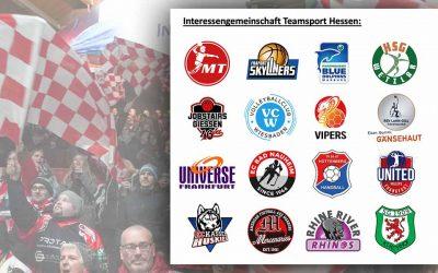 Profi-Clubs halten zusammen –Interessengemeinschaft Teamsport Hessen