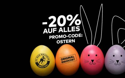 HAPPY EASTER SALE! -20% auf alles!