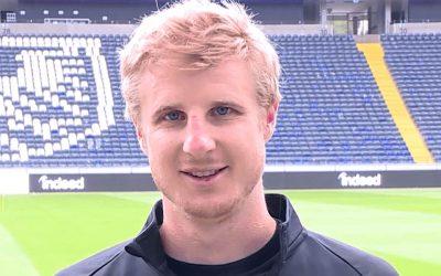 Grußbotschaft von Eintracht-Spieler Martin Hinteregger