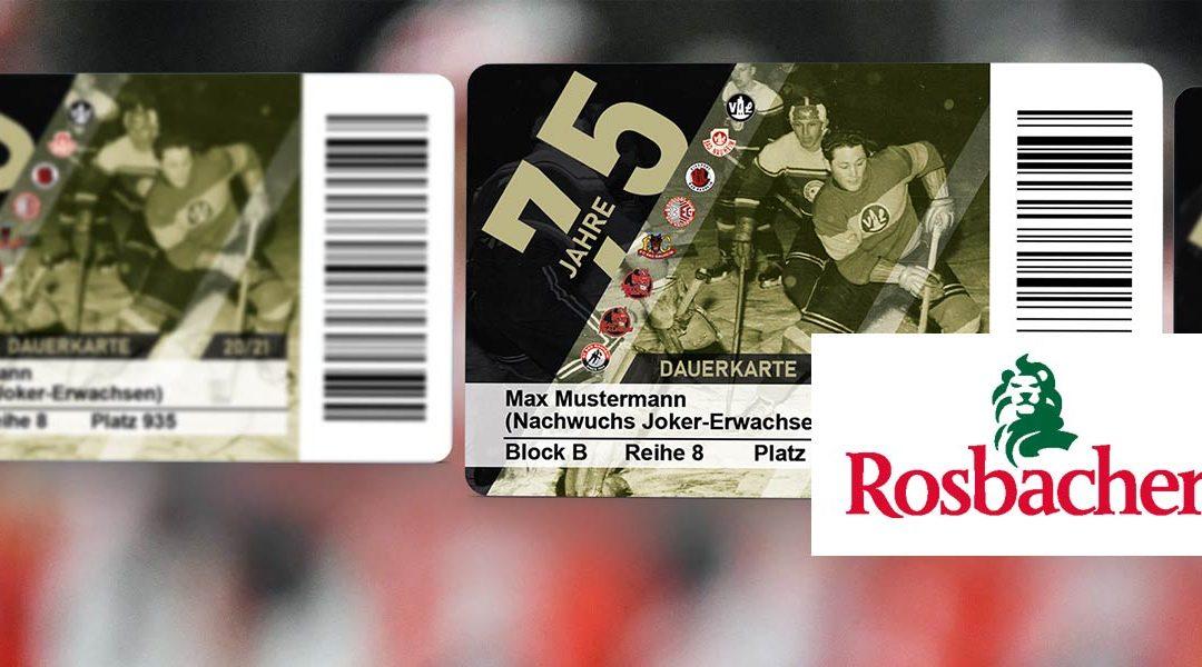 """VERSCHIEBUNG: Ausgabe der """"Rosbacher 2:1 Ideal für deinen Körper""""-Wasserkästen für die Dauerkartenkäufer der 1. Phase"""