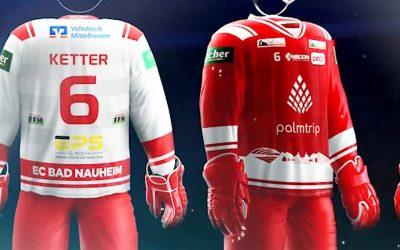 Palmtrip neuer Haupt- und Trikotsponsor des EC Bad Nauheim