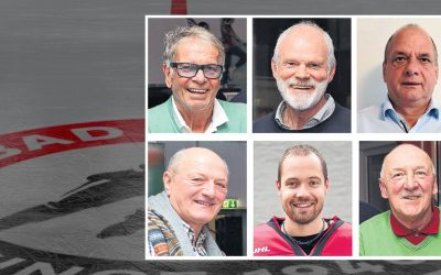 Sechs Botschafter für den EC Bad Nauheim