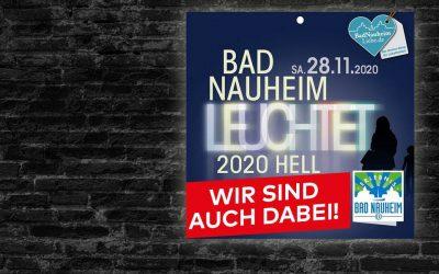 Bad Nauheim leuchtet – Wir sind dabei!