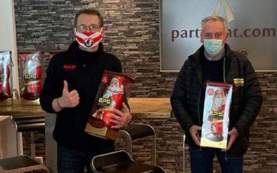 Nikolaus-Überraschung von EPS für die Geschäftsstelle